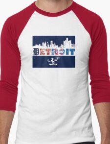 Detroit Sports Men's Baseball ¾ T-Shirt