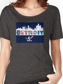 Detroit Sports Women's Relaxed Fit T-Shirt