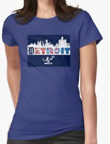 Detroit Sports Womens Fitted T-Shirt