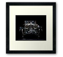 Blower Bentley Framed Print