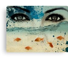 tear in the ocean Canvas Print