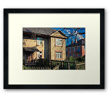 Old Wooden House On The Countryside Framed Print