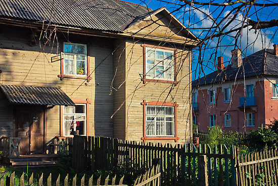 Old Wooden House On The Countryside by GrishkaBruev