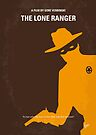 No202 My The Lone Ranger minimal movie poster by Chungkong