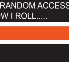 RAM Design Loading That's how I roll Plate #65 Sticker