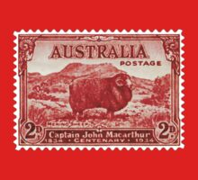 Australian Merino Sheep Stamp 1834-1934 by TravelShop