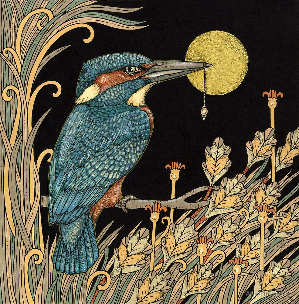King Fisher by Anita Inverarity