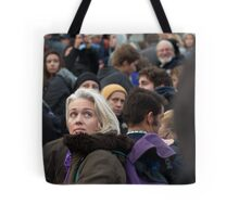 She was Just a Face in the Crowd Tote Bag