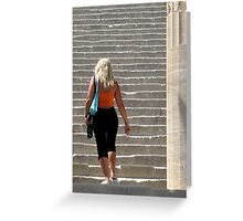 Stairs To Heaven Greeting Card