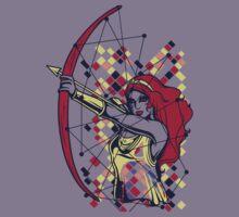 Greek Mythology & Gods - Artemis Kids Tee