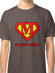 Super Mum mothers day present Classic T-Shirt