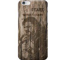 Eddard Stark - Carved case iPhone Case/Skin