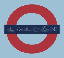 London Underground - MAP! Kids Clothes