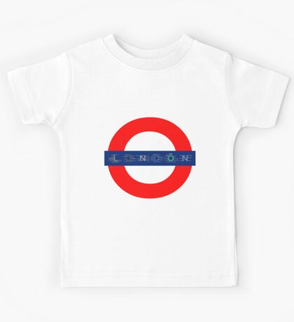 London Underground - MAP! Kids Tee