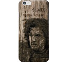 Jon Snow - Carved case iPhone Case/Skin