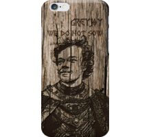 Theon Greyjoy - Carved case iPhone Case/Skin