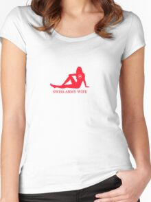 Swiss Army Wife Women's Fitted Scoop T-Shirt