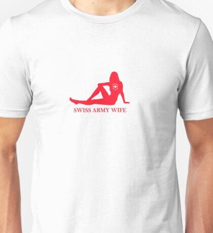 Swiss Army Wife Unisex T-Shirt