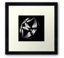 Curvilinear Project No. 237:1 ( Metallic -A ) Framed Print