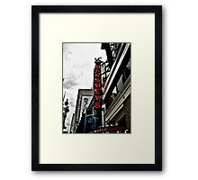 HERSHEY's Time Square in NYC (in color) Framed Print