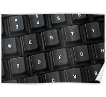 Used Keyboard Poster