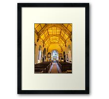 St Mary's Church Kintbury Framed Print