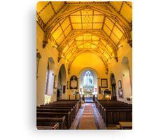 St Mary's Church Kintbury Canvas Print