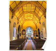 St Mary's Church Kintbury Poster