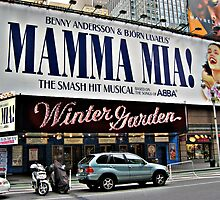 Mamma Mia, Winter Garden Theatre, Times Square, NYC by Jane Neill-Hancock