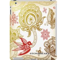 Floral, red bird 02 ipad case iPad Case/Skin
