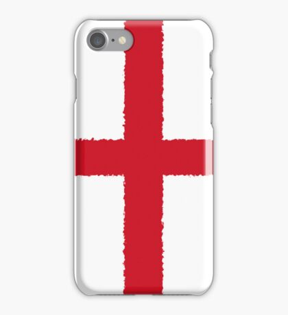 Smartphone Case - Flag of England  - Vertical Painted iPhone Case/Skin