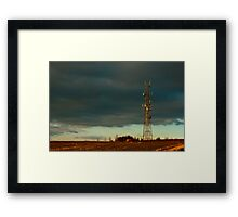 Stormy Day at Combe Framed Print