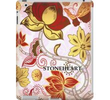 Floral cream and pink  ipad case iPad Case/Skin