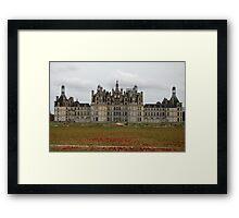 Chateau de Châmbord Framed Print