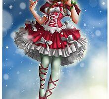 Christmas joy by CalyArtist