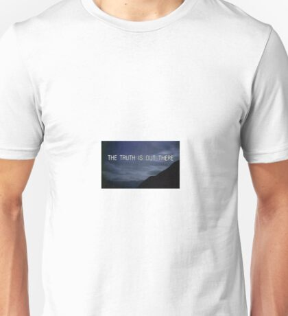 The X Files The Truth is Out There Unisex T-Shirt