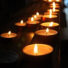 Memorial candles by lauracronin
