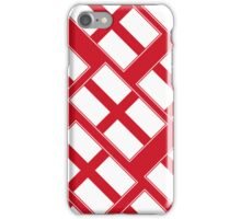 Smartphone Case - Flag of England  - Diagonal iPhone Case/Skin