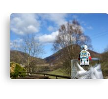 Lake District - Lego Robot Canvas Print