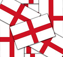 Smartphone Case - Flag of England  - Multiple by Mark Podger