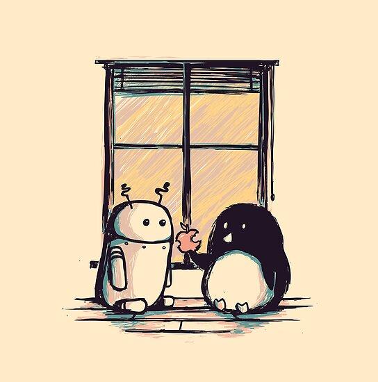 Best friends by Budi Satria Kwan
