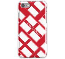 Smartphone Case - Flag of England  - Diagonal Named iPhone Case/Skin