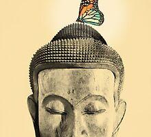 Buddha - tranquil by Budi Kwan