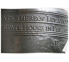 Liberty Bell Detail Poster