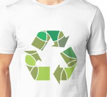 Abstract recycle design Unisex T-Shirt