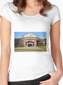 Falcon Park - Auburn Doubledays Women's Fitted Scoop T-Shirt