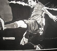 Lionel Messi by Colin  Laing