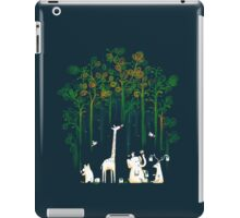 Re-paint the forest iPad Case/Skin
