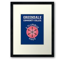 Greendale - E Pluribus Anus Framed Print