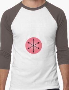 Greendale - E Pluribus Anus Men's Baseball ¾ T-Shirt